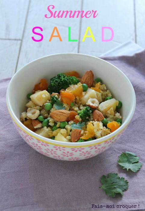 Salade de millet d'été