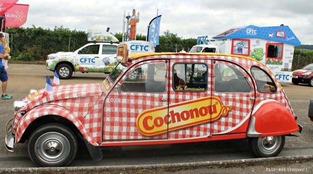 La 2CV limousine Cochonou