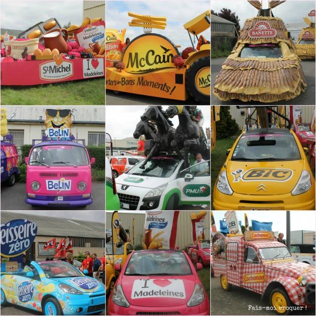 La caravane publicitaire du Tour de France 2014