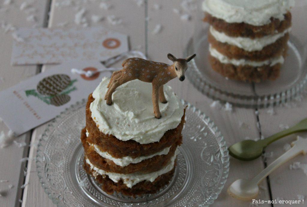 Layer cake au potion et epices, sans gluten