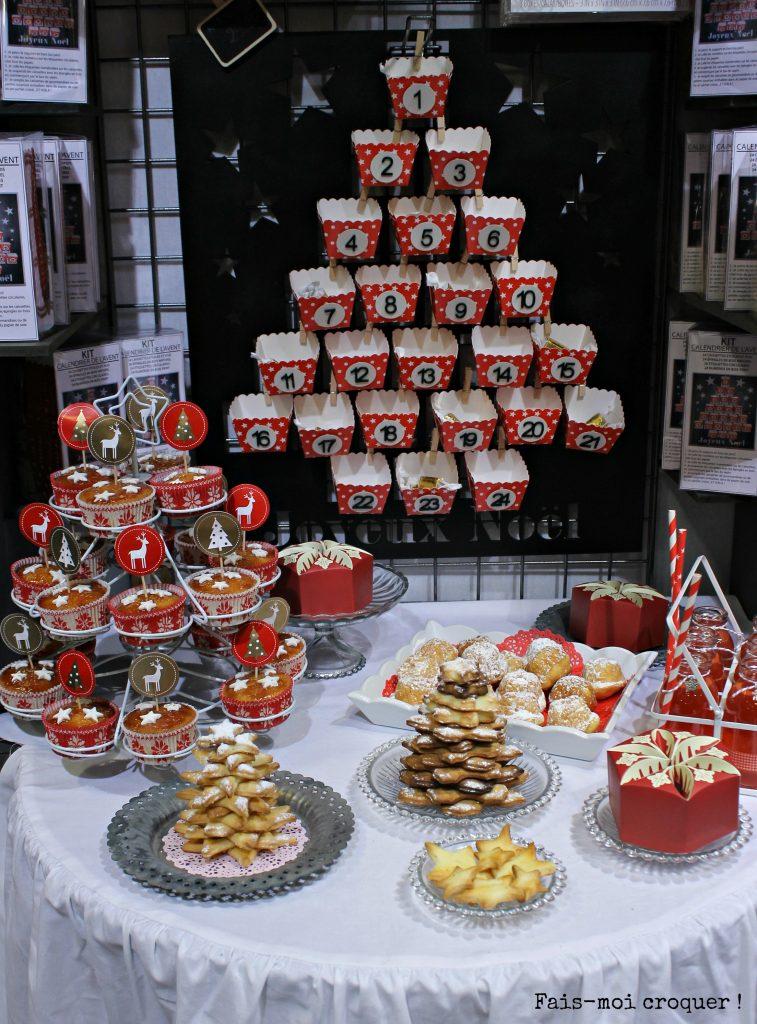 sweet table noel