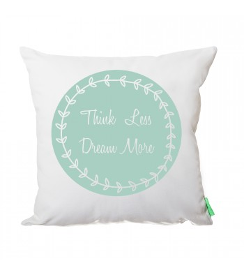 Think less, dream more, Coussin Germain