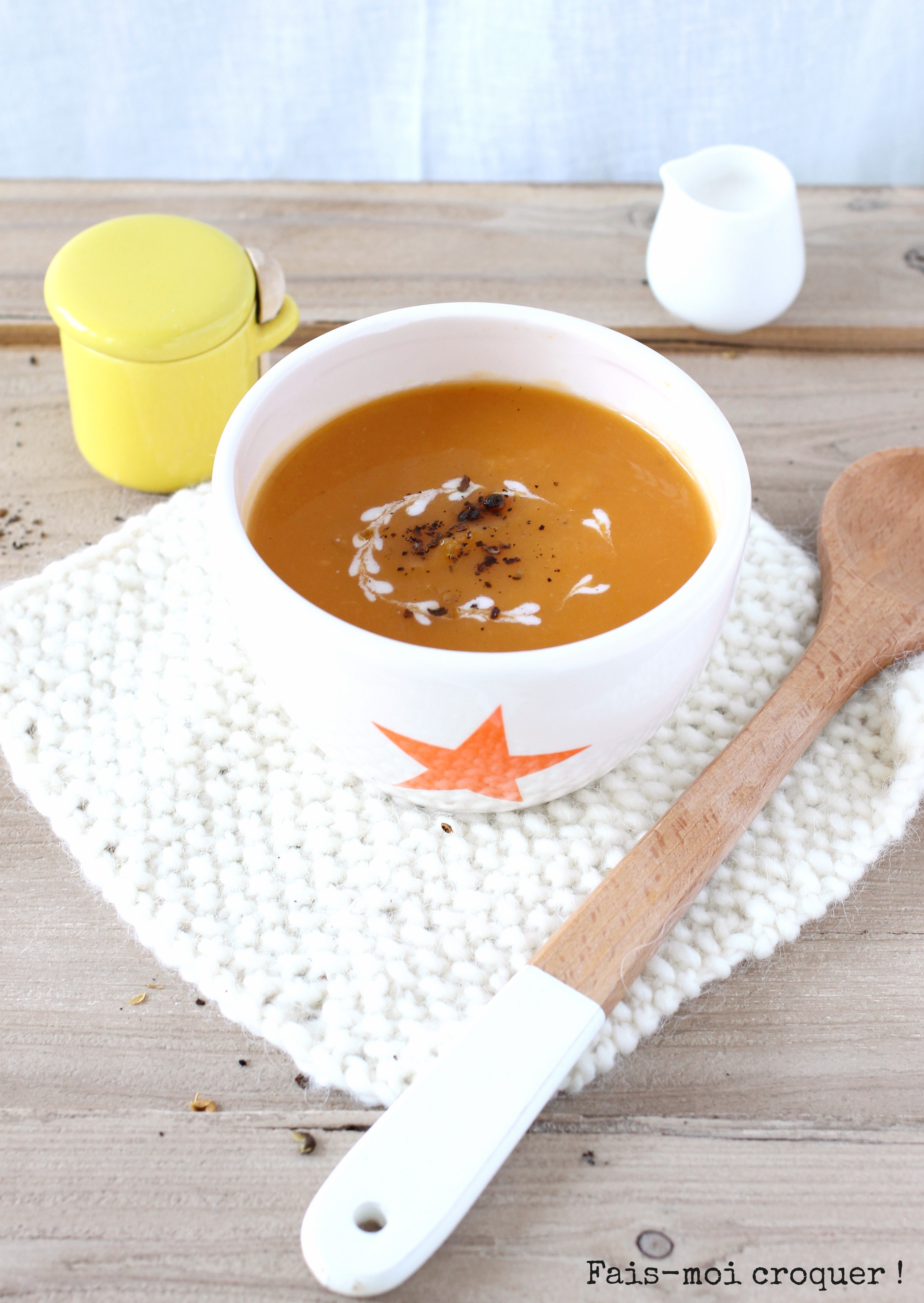 Potage Butternut et Patate douce