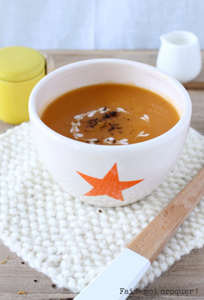 Soupe Butternut et Patate douce
