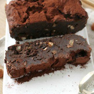 Brownie green sans gluten et sans lactose