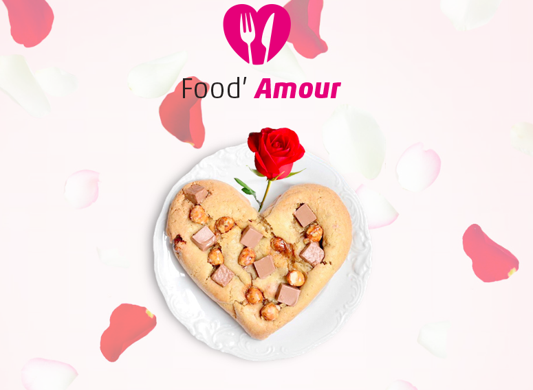 Cookie pour la Saint Valentin