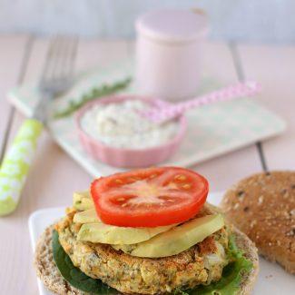 Veggie Burger sans gluten d'Estelle Lefébure