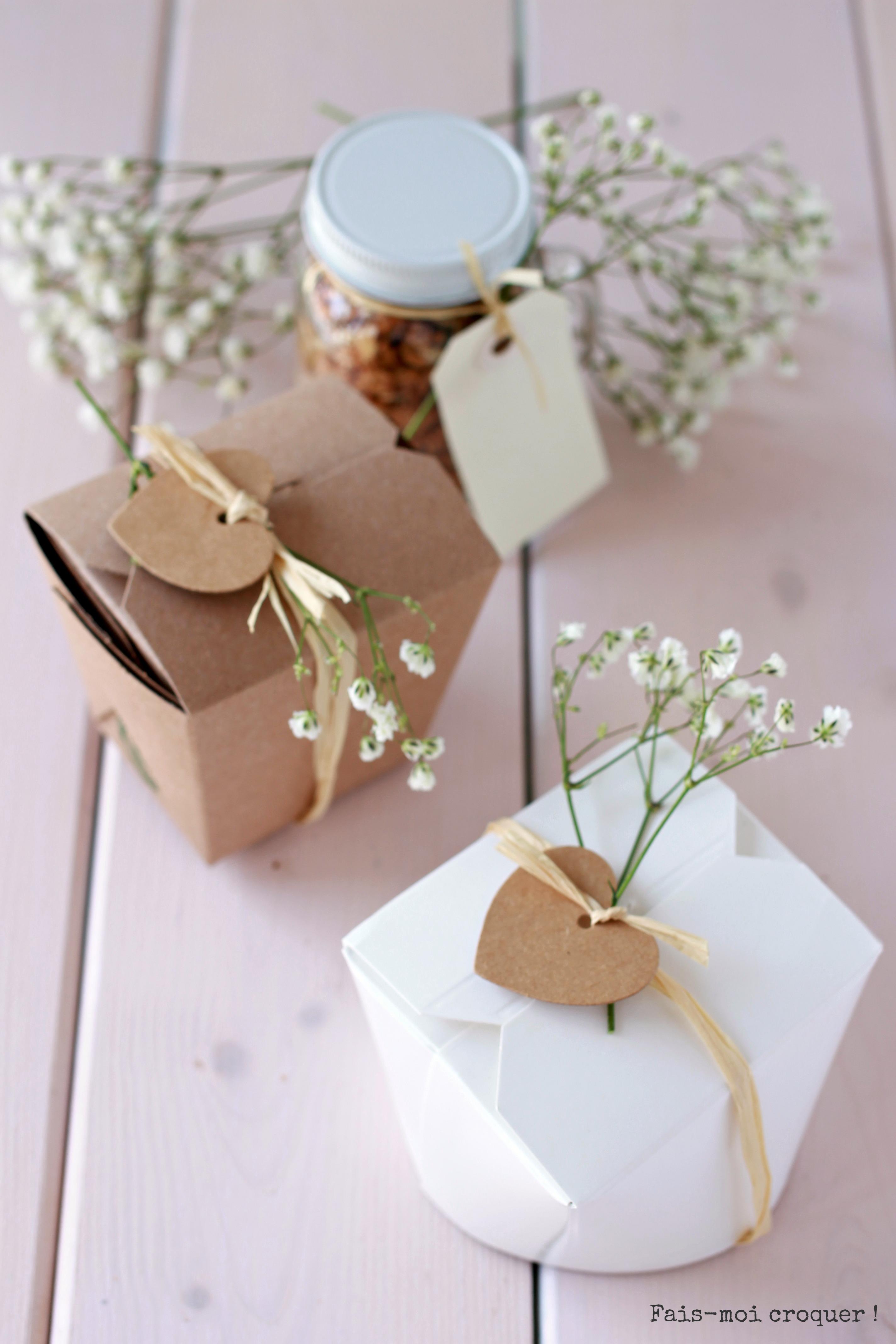 cadeau d'invités mariage