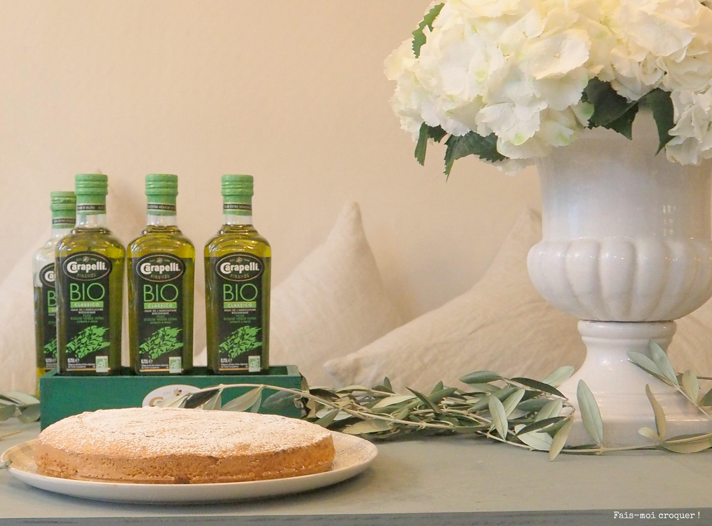 Huile d'olive Bio Carapelli