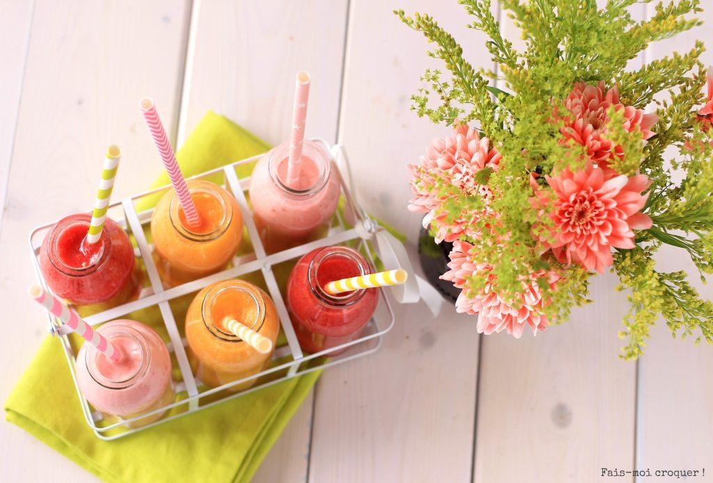 Smoothie aux fruits d'été