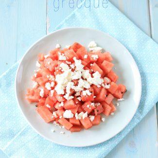 Salade Fêta Pastèque