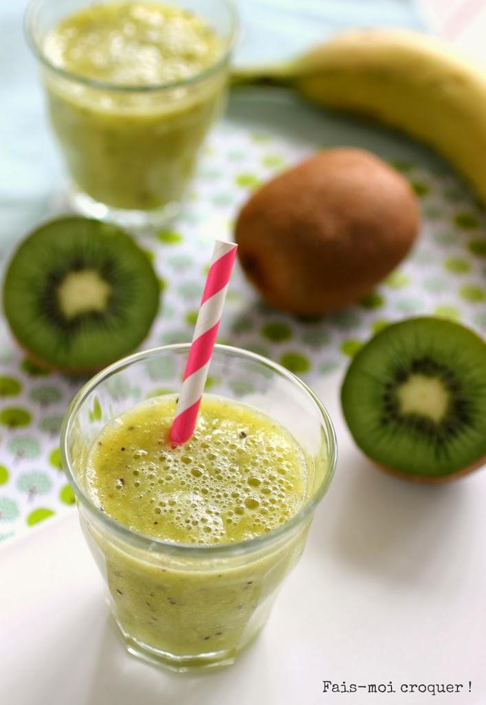 smoothie d 39 hiver d tox vitamin un shot de kiwi d 39 orange et de banane pour reprendre des. Black Bedroom Furniture Sets. Home Design Ideas