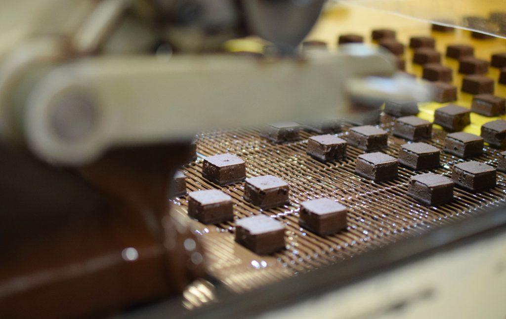 Chocolat avant nappage