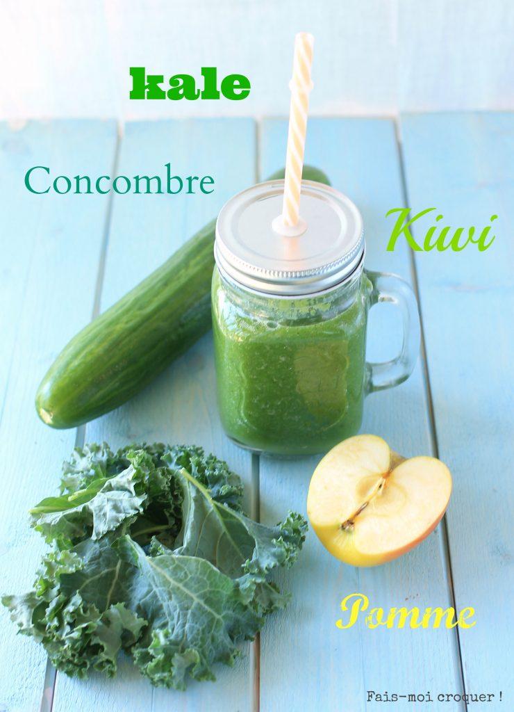 Greensmoothie kale