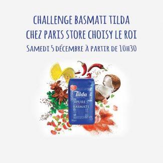 Challenge riz Tilda