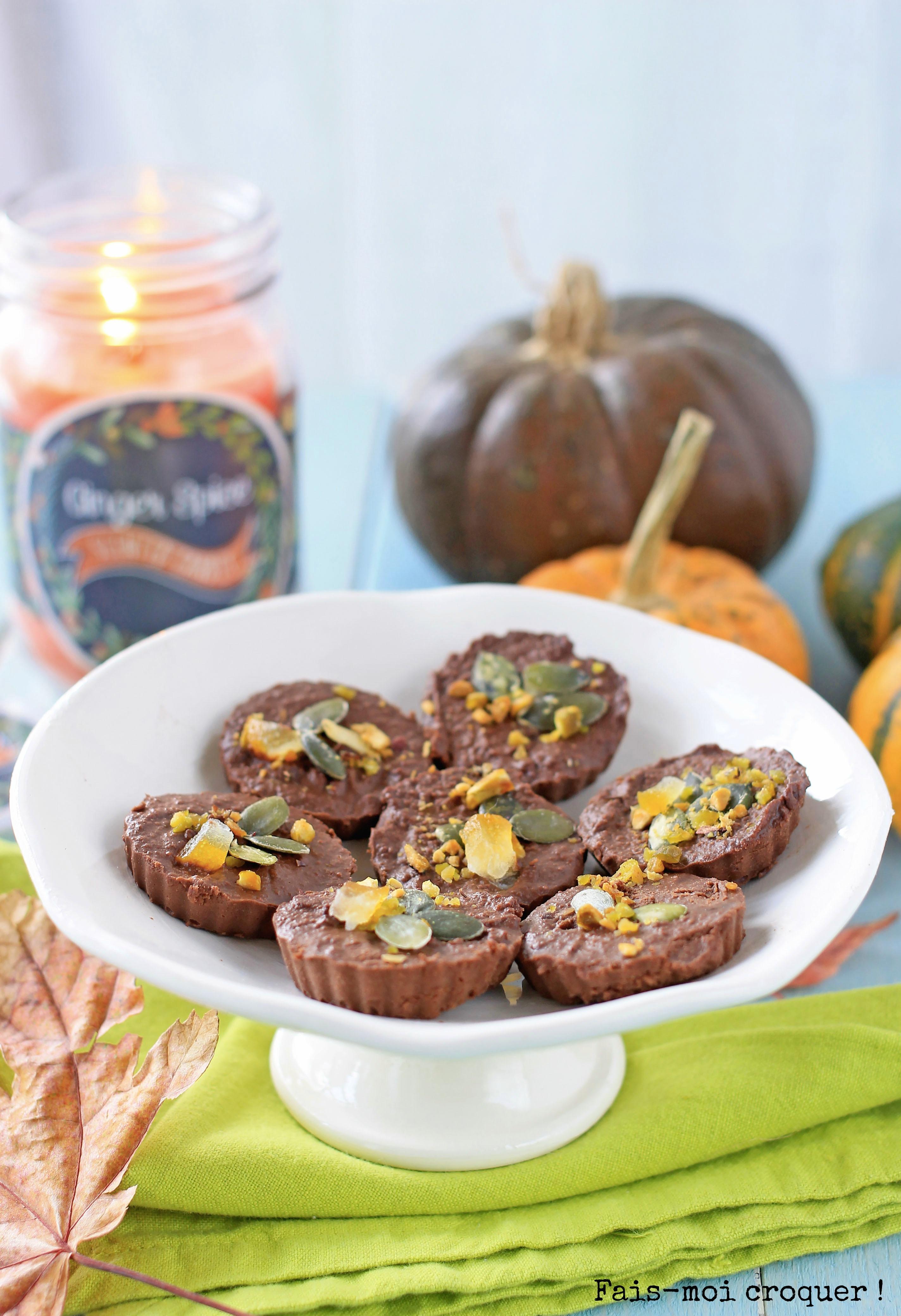 Chocolat vegan au potiron Bataille Food 28