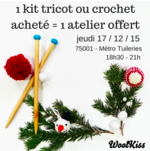 Atelier tricot WoolKiss