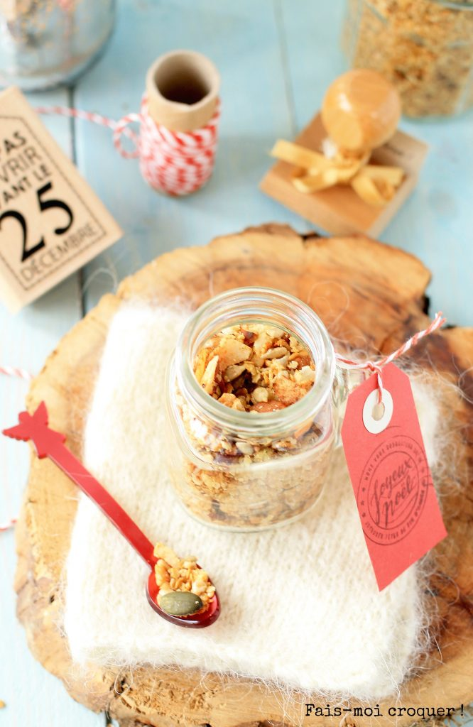 Christmas ginger granola