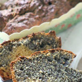 cake citron pavot sans gluten