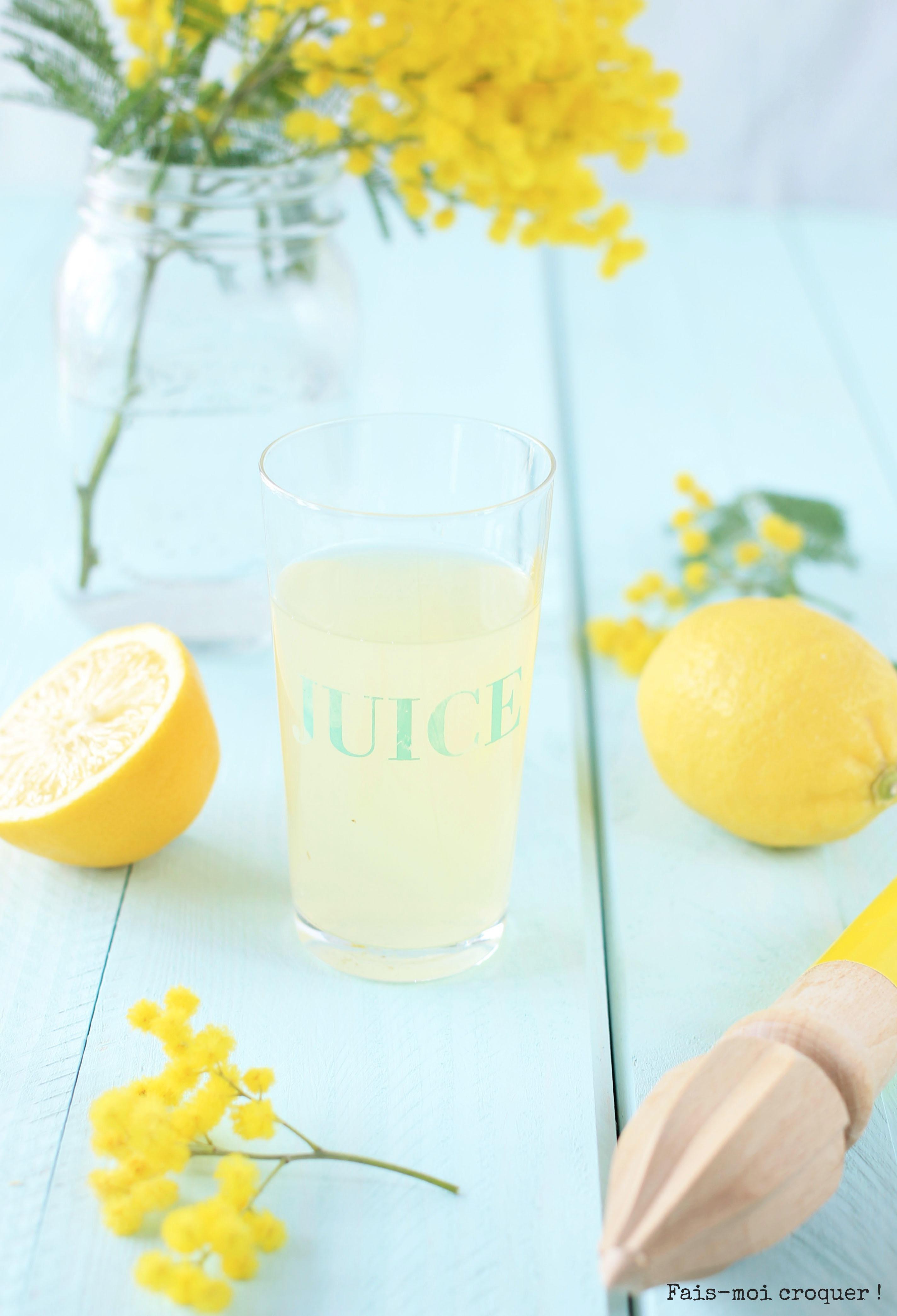 citron matin à jeun