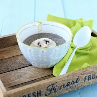 Soupe champignon châtaigne Bjorg