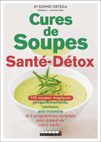 Livre Cures de soupes sante detox