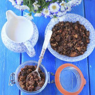 Granola avoine double chocolat