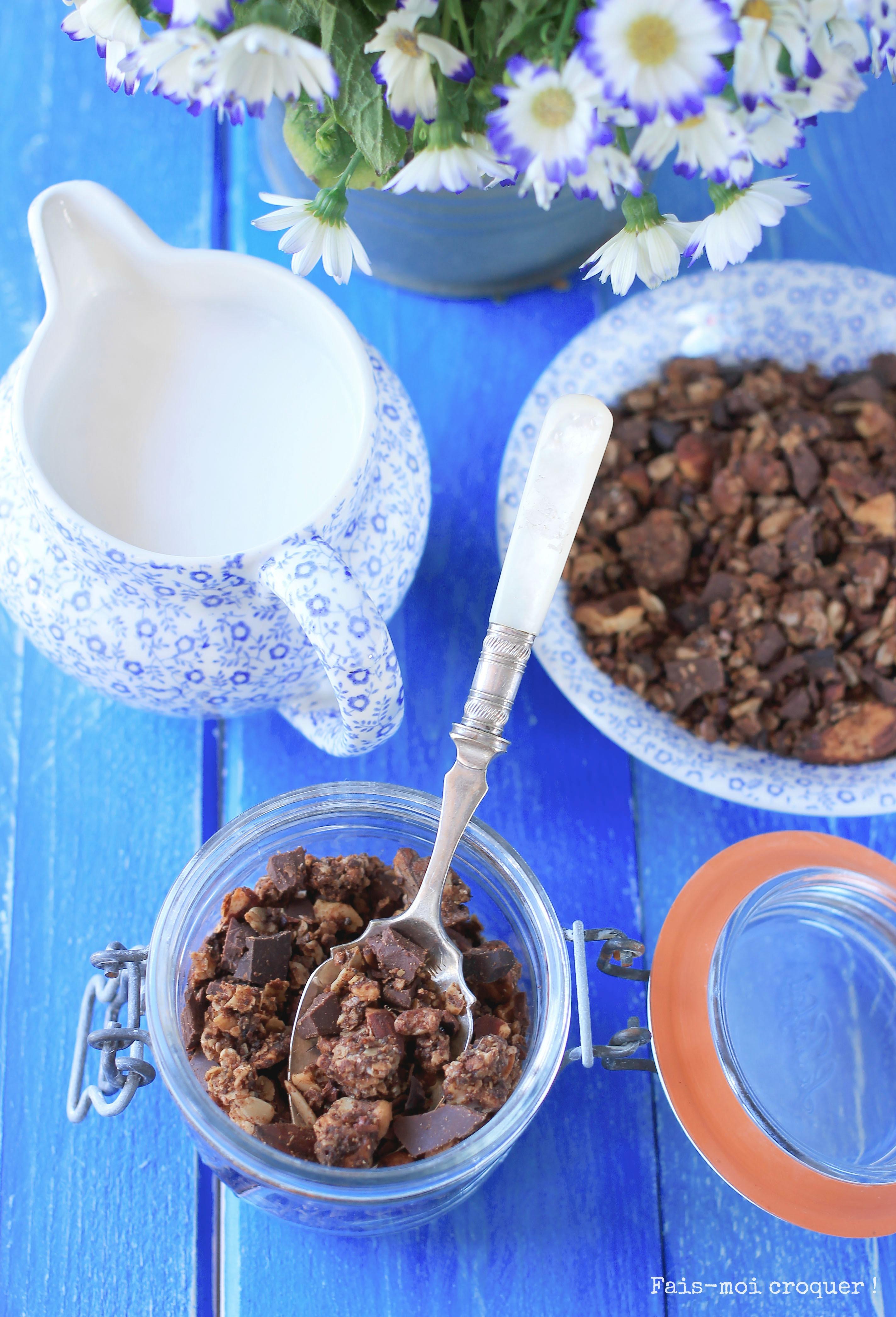 Granola double chocolat