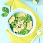 salade printemps green quinoa avocat