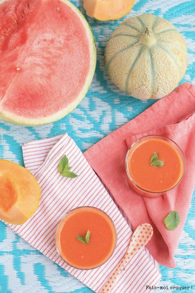 gaspacho melon pasteque