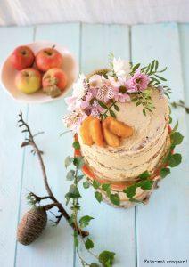 Cake Aux Pommes Caram Ef Bf Bdlis Ef Bf Bd