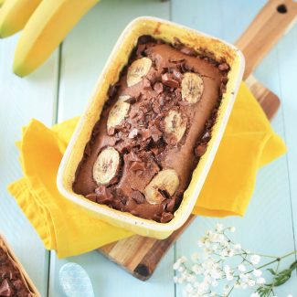 banana bread double chocolate