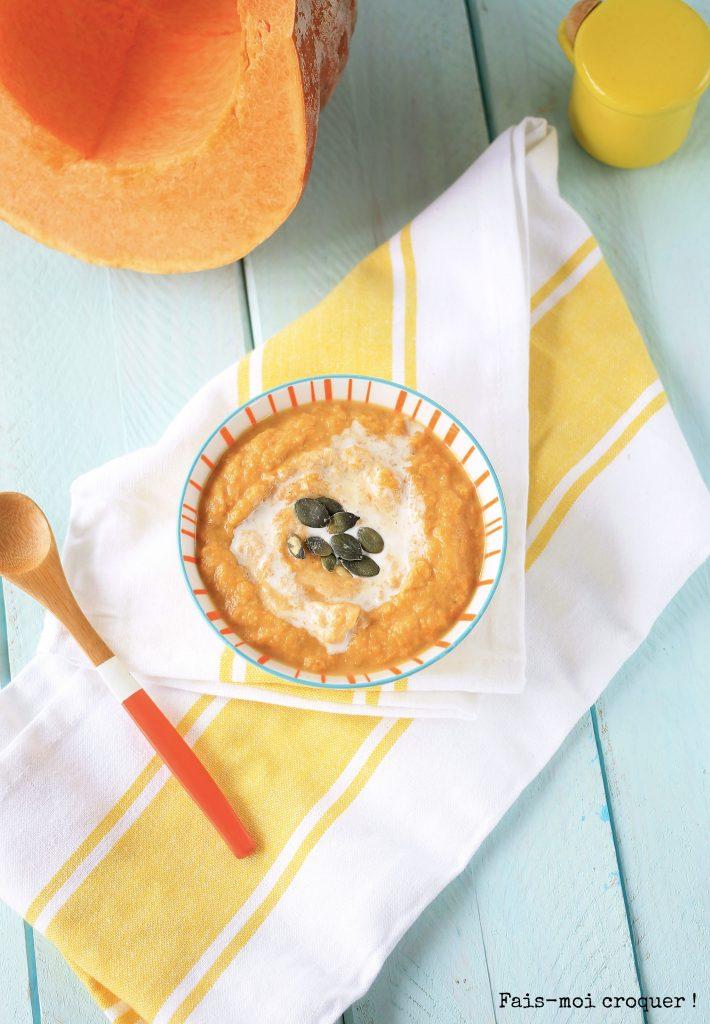 Soupe Poireaux Potimarron Roti