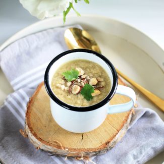 Soupe pomme de terre celeri poireaux