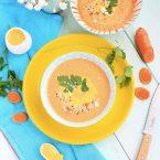 Gaspacho carotte curcuma