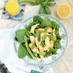 Salade de poulet green