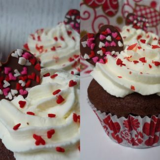 Hot Love cupcake