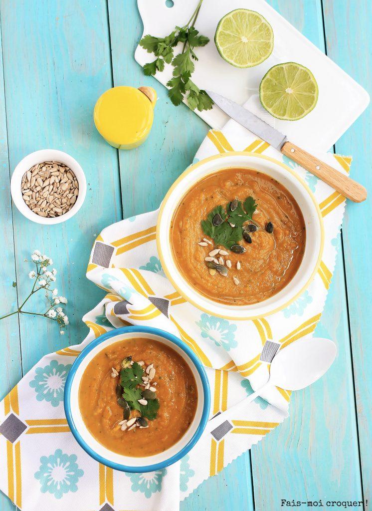 soupe lentilles corail