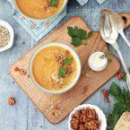 soupe aux légumes d'automne