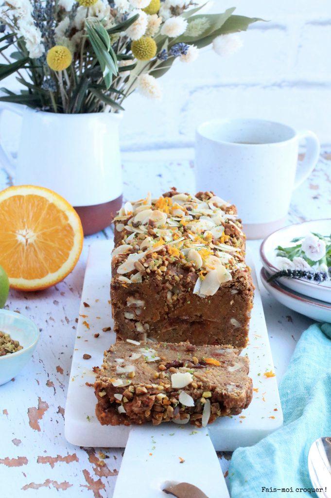 Carrot cake vegan & sans gluten
